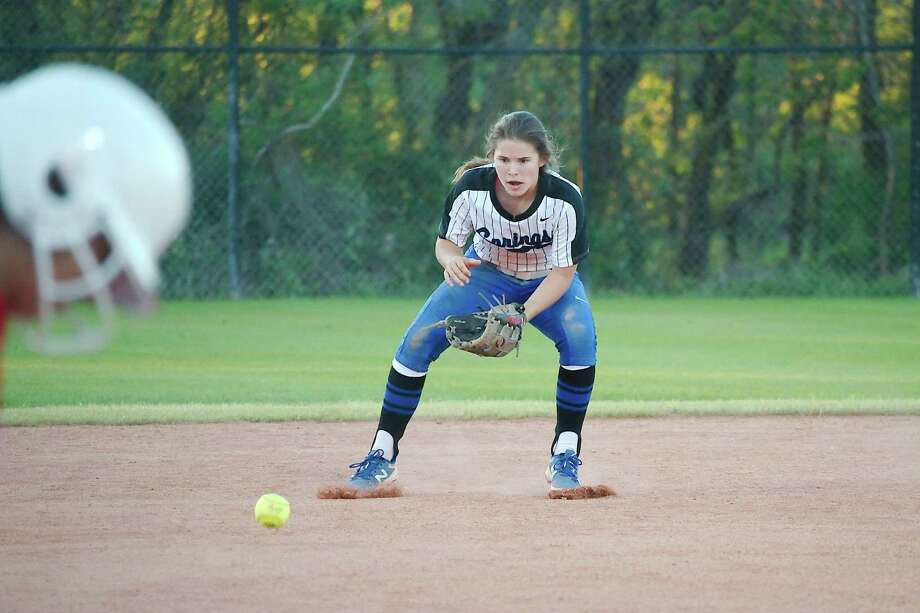 Clear Springs' Demi Elder was one of 10 Clear Creek ISD softball players named to the all-District 24-6A first team. Photo: Kirk Sides / Houston Chronicle / © 2018 Kirk Sides / Houston Chronicle