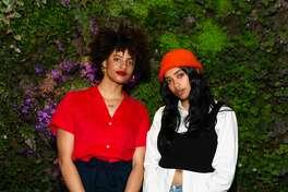 Azha Luckman and Rowina Beshue attend SFMOMA Art Bash 2019 on May 22nd 2019 at SFMOMA in San Francisco.