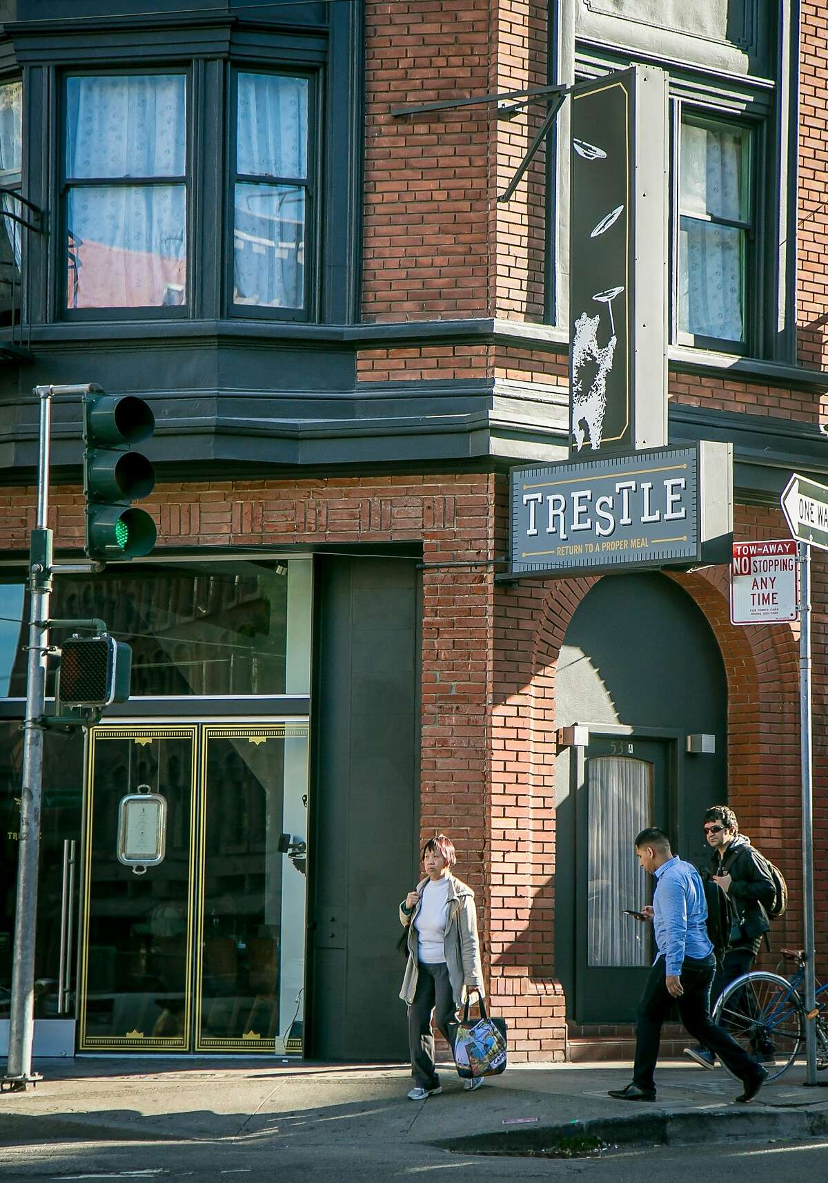 The exterior of Trestle in San Francisco, Calif., is seen on June 20th, 2015.