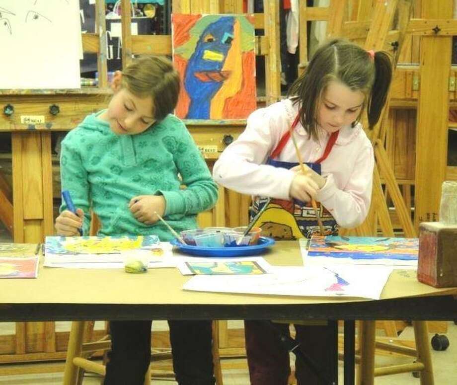 The Greenwich Art Society's Kids Summer Art Camp takes place June 24-28. Photo: Greenwich Art Society / Contributed Photo