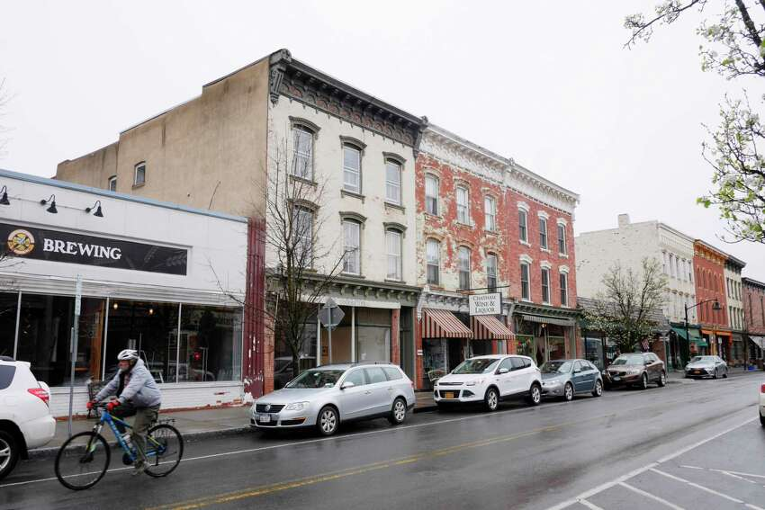 Officials in the town of Chatham, Columbia County, have added new zoning rules to limit the impact of short-term home rentals, such as Airbnb. Here is a view of downtown Chatham. (Paul Buckowski / Times Union archives)