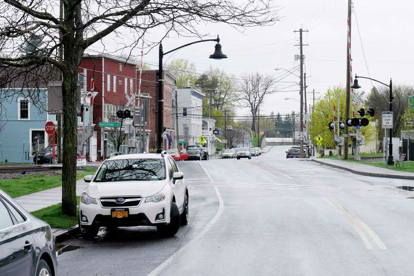 A view of downtown Chatham on Wednesday, April 26, 2017, in Chatham, N.Y. (Paul Buckowski / Times Union)