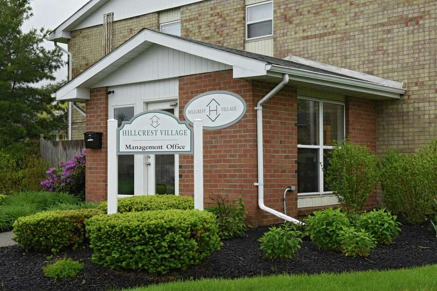 Management office at Hillcrest Village apartments on Tuesday, May 28, 2019 in Niskayuna, N.Y. (Lori Van Buren/Times Union)