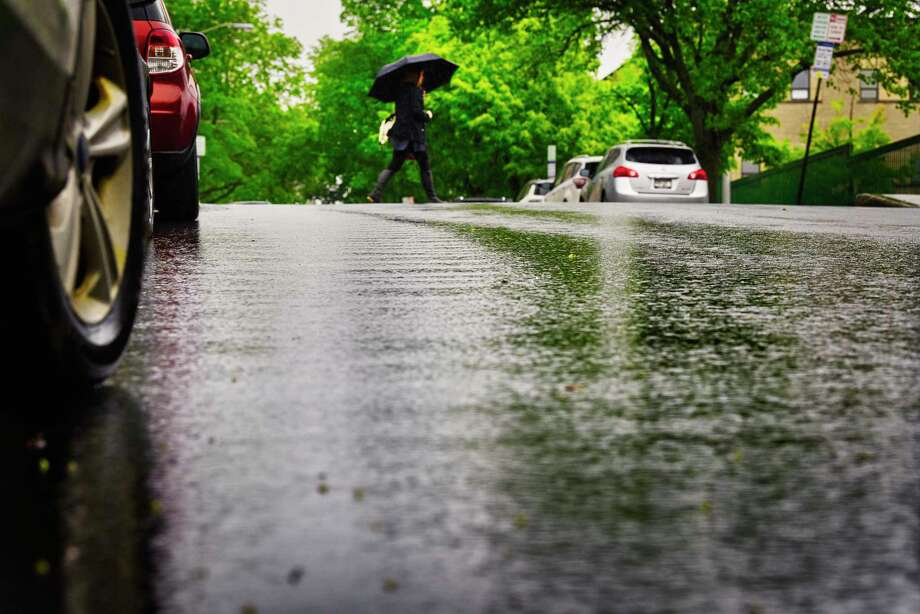 The National Weather Service in Albany issued a flood advisory on Thursday for parts of the Capital Region until 3 p.m. Photo: Paul Buckowski, Albany Times Union / (Paul Buckowski/Times Union)