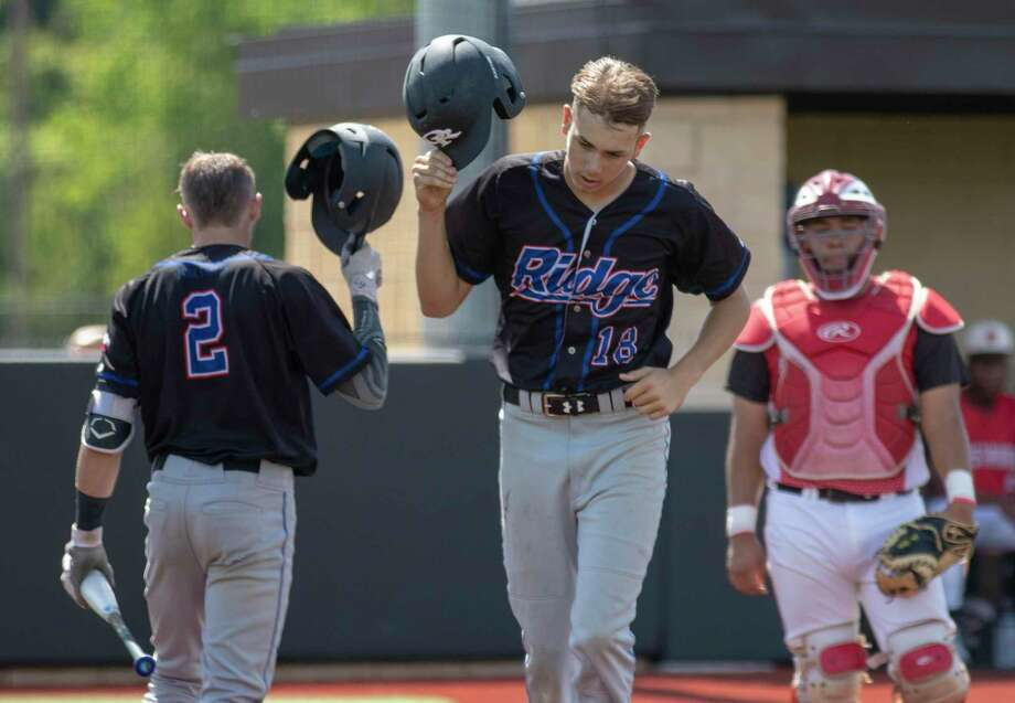 Oak Ridge outfielder and pitcher Zach Easterling (18) is one of the top returning players in Montgomery County this season. Photo: Cody Bahn, Houston Chronicle / Staff Photographer / © 2018 Houston Chronicle