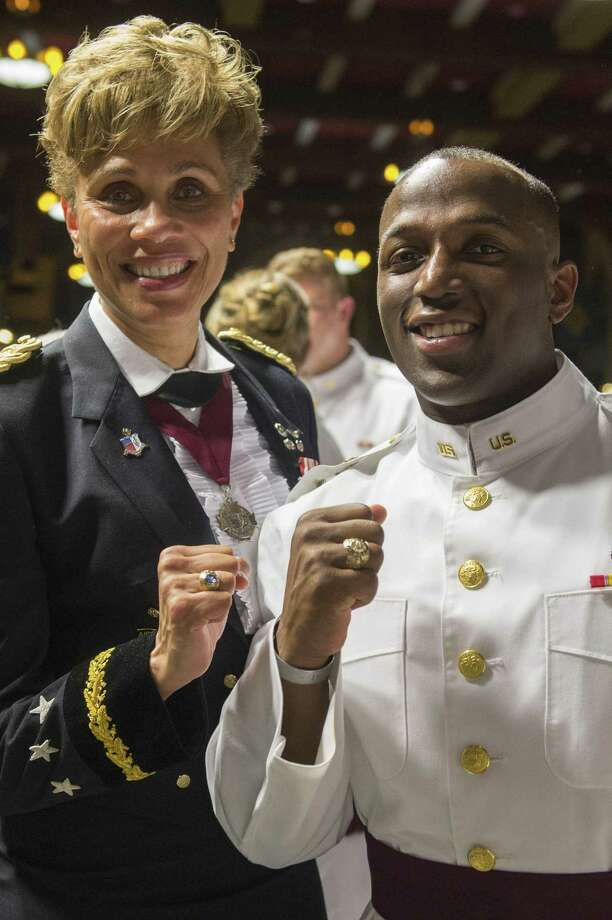"Tony Smith of Katy graduated May 25 from the U.S. Military Academy at West Point in what officials are calling their ""most diverse class ever."" Vice President Mike Pence served as the commencement speaker for the class of 2019 which has more than 980 graduates. Photo: Courtesy U.S. Military Academy At West Point, Visual Information Specialist / Courtesy U.S. Military Academy At West Point / Digital"