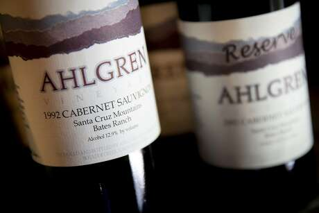 The 1992 Ahlgren Bates Ranch Cabernet Sauvignon, the author's epiphany wine. Photo: Santiago Mejia / The Chronicle