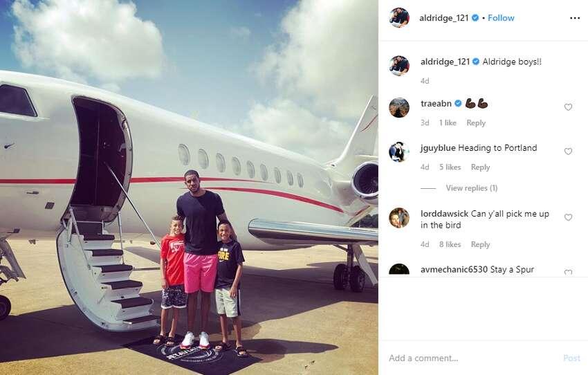 LaMarcus Aldridge jetted off with family aldridge1_121: Aldridge boys!!!