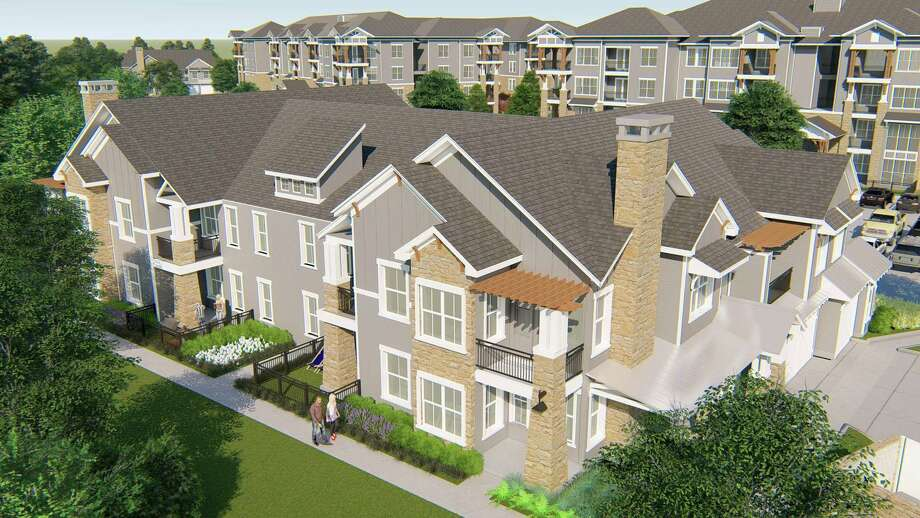 Lakeside Row will be the first multifamily development in the Bridgeland community. Photo: Bridgeland