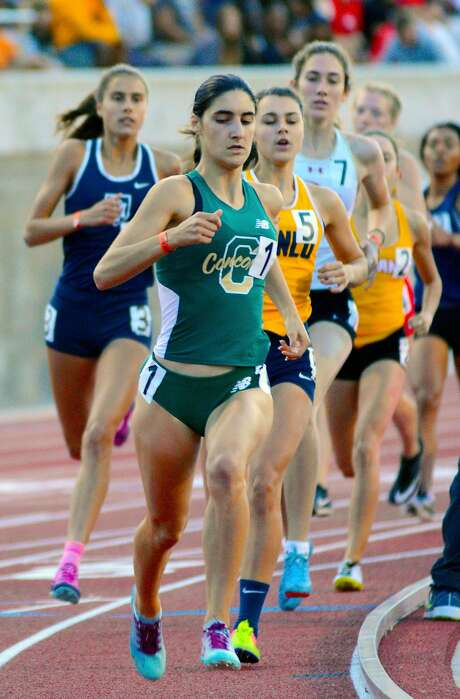 Concord senior Rayna Stanziano led the state meet 800-meter final with about 100 meters to go, but faltered down the stretch to finish third.