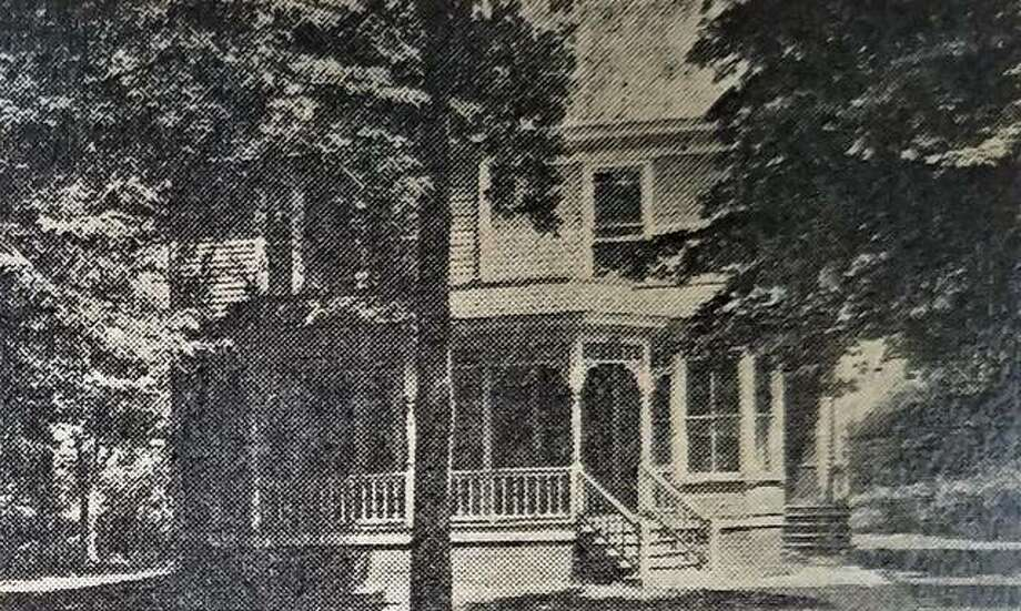 The home on St. Louis Street in August 1912, which at the time was owned by Charles and Olive Sheppard. Photo: The Intelligencer Archives Via Cindy Reinhardt