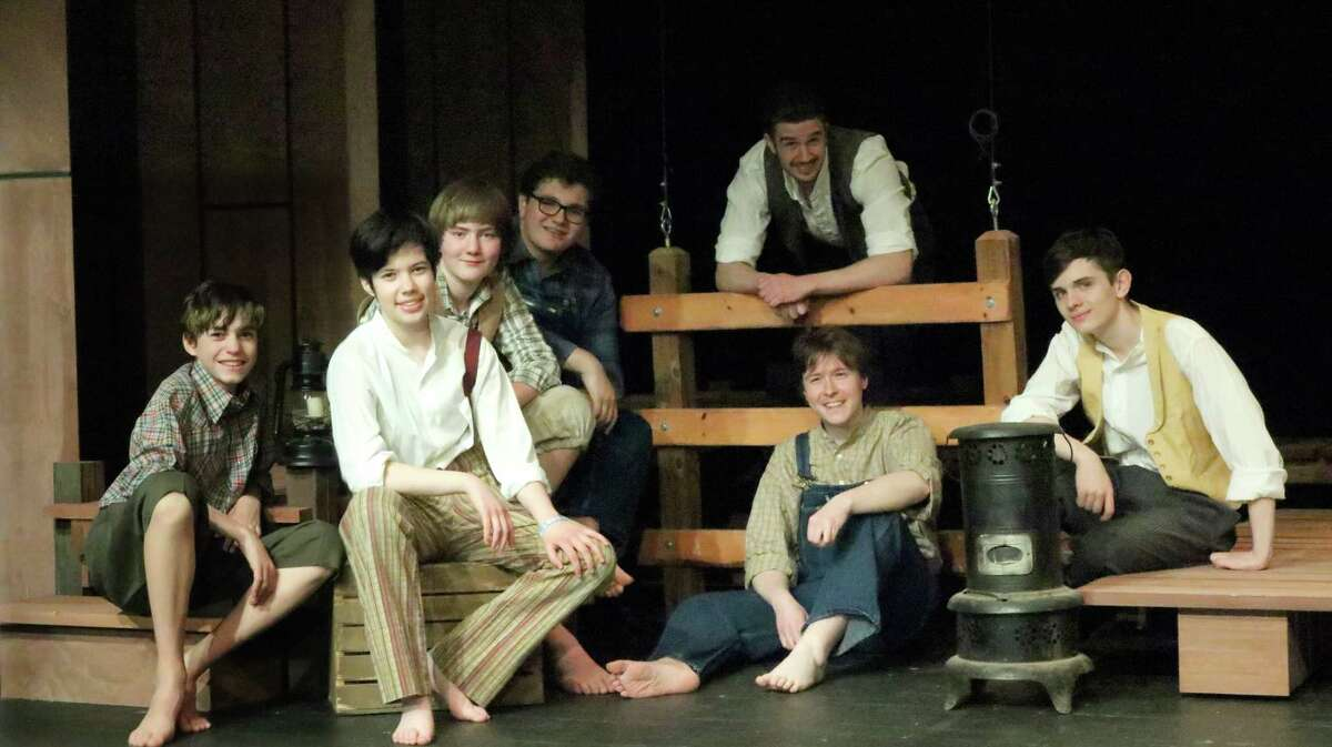 """Huckleberry Finn's gang, including Tom Sawyer, are all here in the Tony-winning musical, """"Big River,"""" onstage at Curtain Call's Kweskin Theatre in Stamford, June 7-29."""