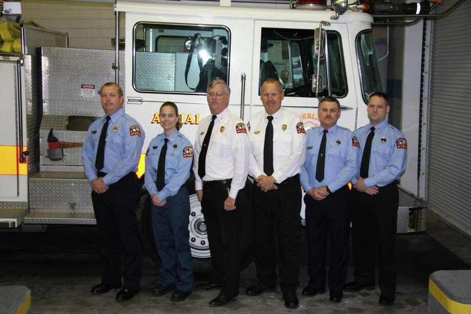 Gary Collins, third from left, former Nederland fire chief Photo provided by Nederland fire department