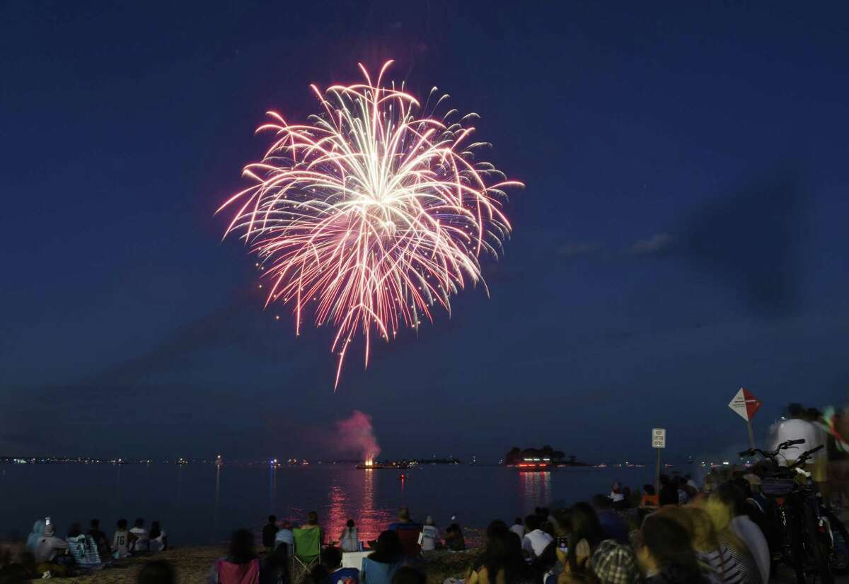 East Haven Independence Day Fireworks/Beach Party Day, East Haven Town Beach, Cosey Ave.  July 1.