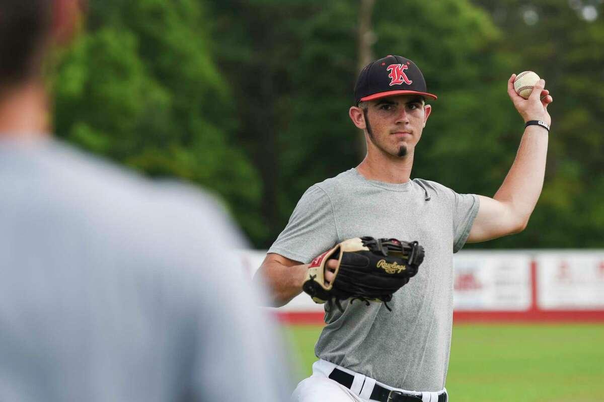 Kirbyville baseball player Justin