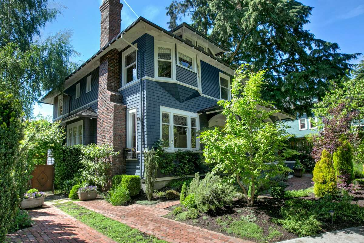 Preserved and new, historic and modern: this Capitol Hill beauty on Prospect Park could be yours