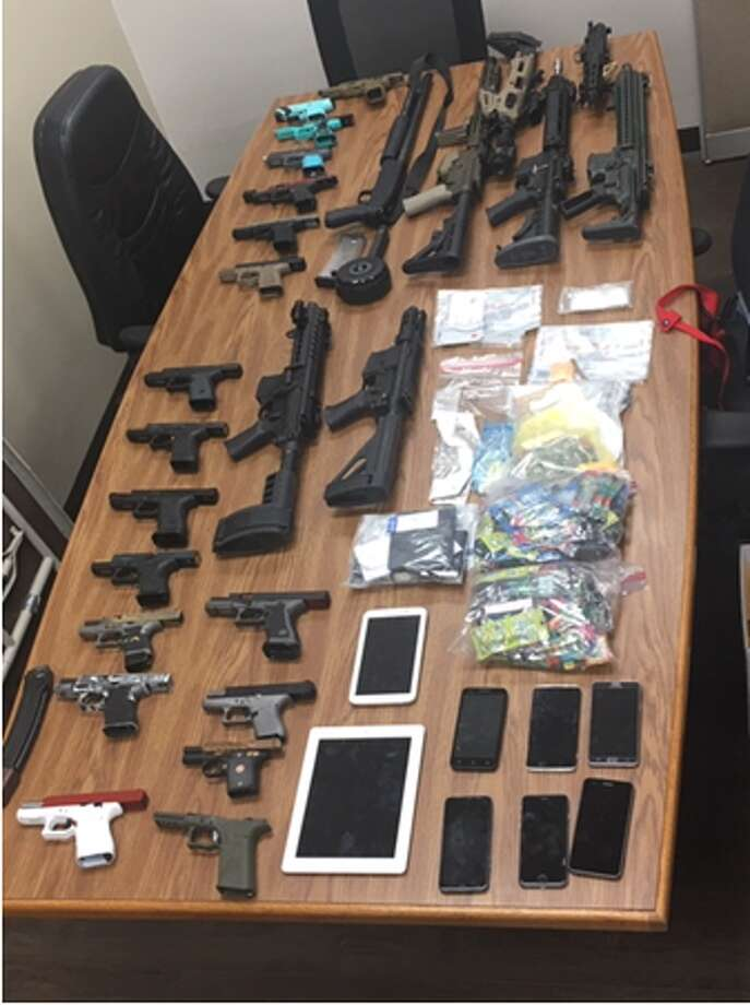 Deputies recovered drugs, guns and stolen tools from a Northeast Side home on May 22. Photo: Bexar County Sheriff's Office