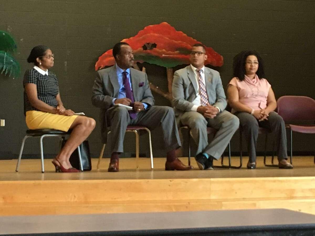 Males of Color Forum, Bridgeport, 2018.