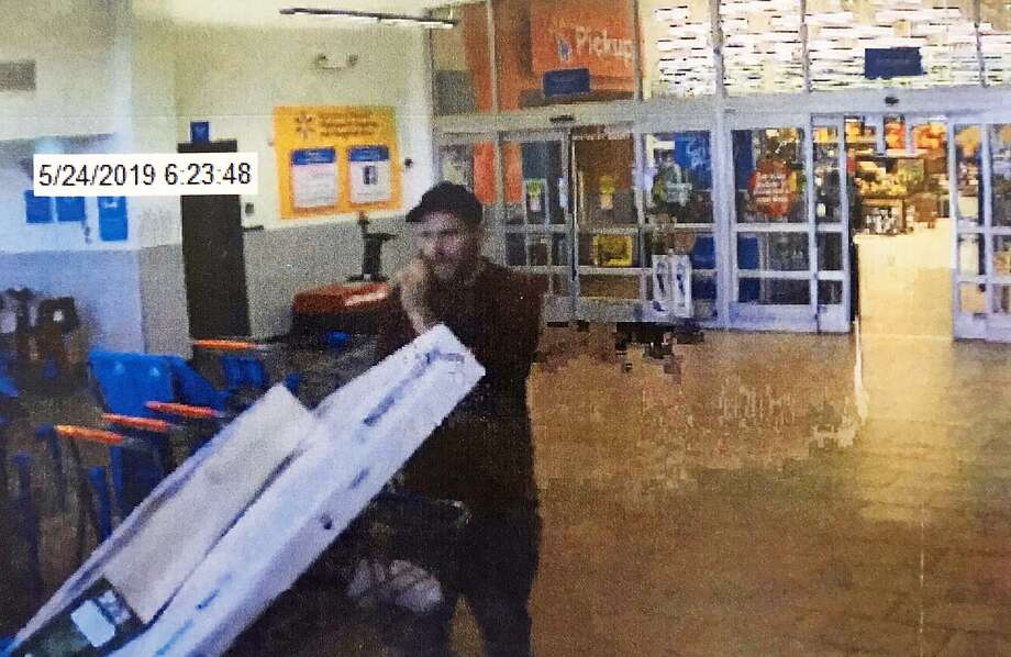 Camera catches man stealing 2 TVs from Walmart - Connecticut