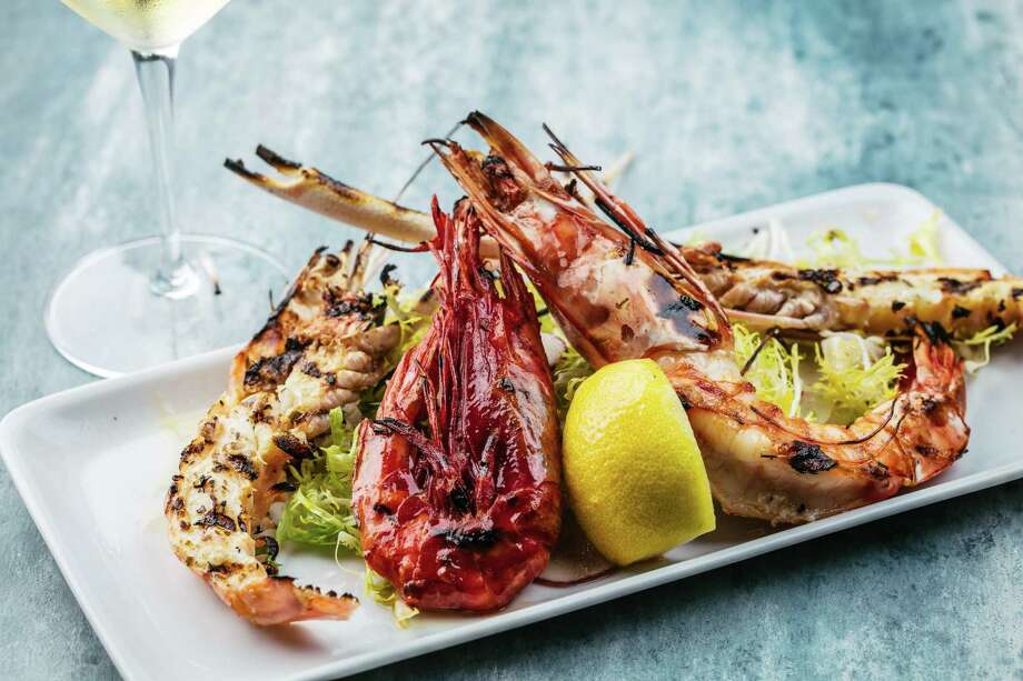 Ouzo Bay, an elevated Mediterranean restaurant specializing in fresh seafood and fish from around the world, is set to Open June 17 at River Oaks District, 4444 Westheimer. Photo: Ouzo Bay