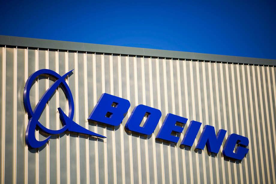 The Boeing logo. Photo: Bloomberg Photo By Matthew Lloyd. / © 2018 Bloomberg Finance LP