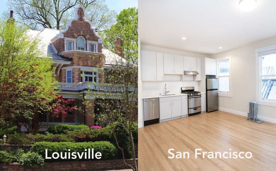 What does $2,800 rent you in cities around the country? In Louisville, Ky. you can rent 5,000-square-foot historic home on a leafy street, and in San Francisco you get a 332-square-foot studio in Nob Hill. Click through the gallery to see rentals in more cities > Photo: Zumper