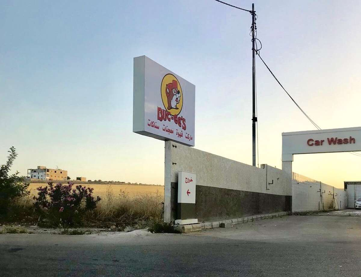 This...Buc-ee's sign was spotted in Amman, Jordan. >>>See 25 Buc-ee's facts that might surprise you.