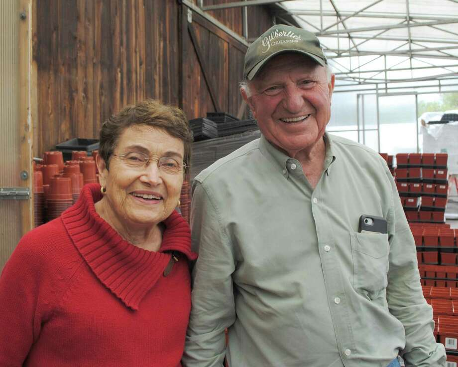 Marie and Sal Gilbertie of Easton, owners and founders of Gilbertie's Herb Gardens, will receive the Community Partnership Award for their long association with the Center as a vocational worksite. Photo: Contributed Photo