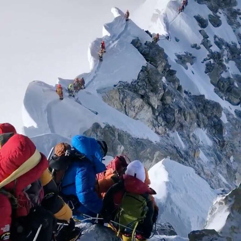 Mount Everest is full of garbage. A cleanup crew just ...