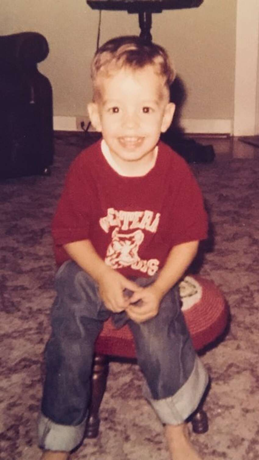 Wake up every morning to this smiling face when you turn on the TV. He was born to be in front of the camera. Can you guess who this is?