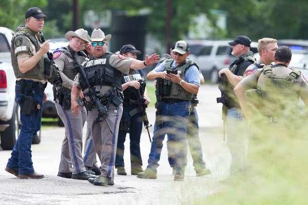 Deputy, 3 others shot in clash with gunman