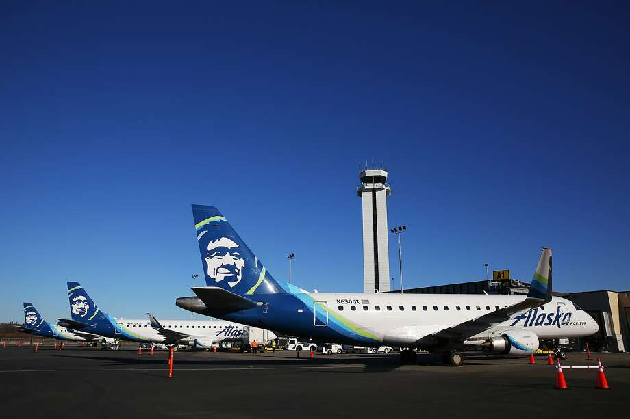 Alaska Airlines and United now fly from the Bay area to the new Everett Paine Field Airport terminal Photo: Genna Martin