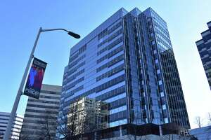 Aerospace and defense parts maker Hexcel, a Fortune 1000 company, has announced that it will merge with Fort Collins, Colo.-based Woodward. Hexcel is based at this building, at 281 Tresser Blvd., in downtown Stamford, Conn.