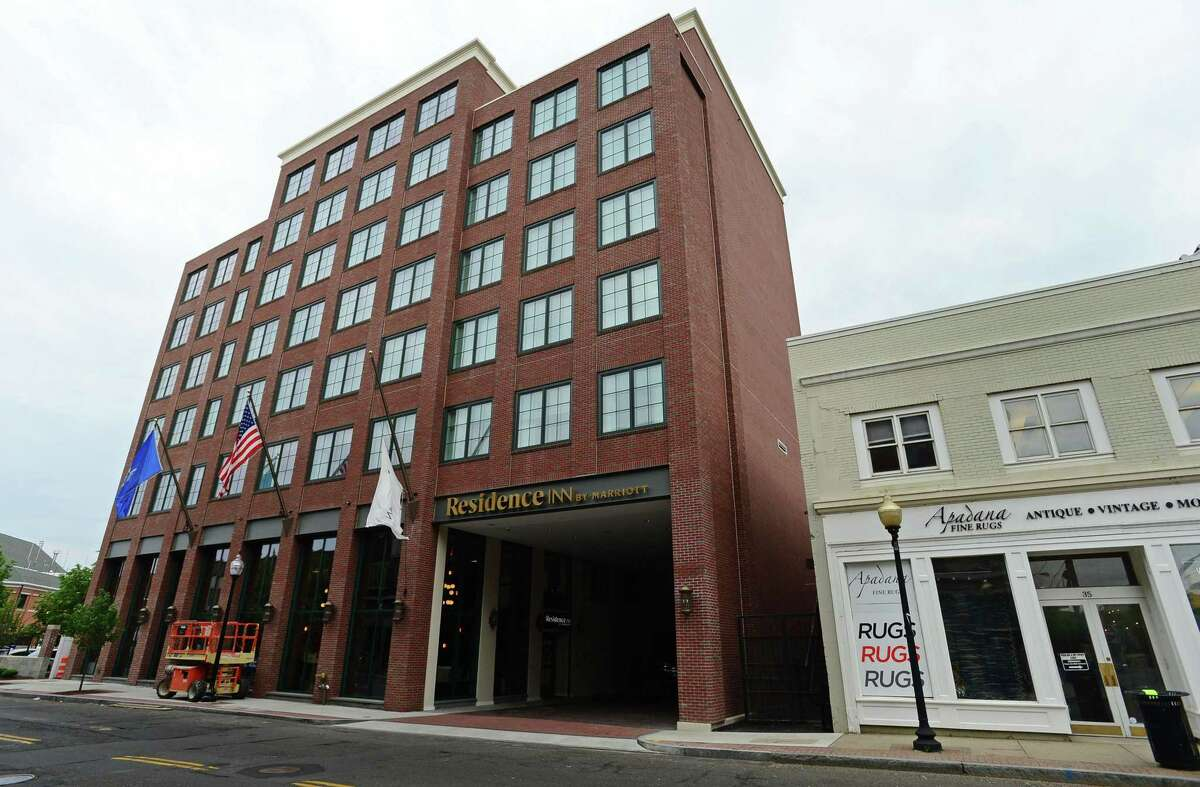 The new Residence Inn by Marriott Tuesday, May 28, 2019, in Norwalk, Conn. opens Thursday in South Norwalk,