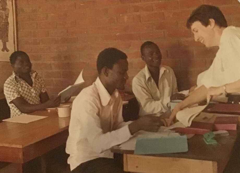 Dee Ann Miller, right, served as a missionary in Malawi. During her time there, she says she was assaulted by another missionary and her complaint was ignored. (Courtesy Dee Ann Miller)