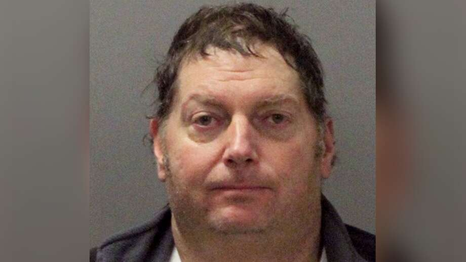 Terry Mapes, 55 of Sacramento, was arrested and cited for flying a drone in restricted airspace, police said. He used the drone to drop anti-media fliers over two NFL games. Photo: Santa Clara Police Department
