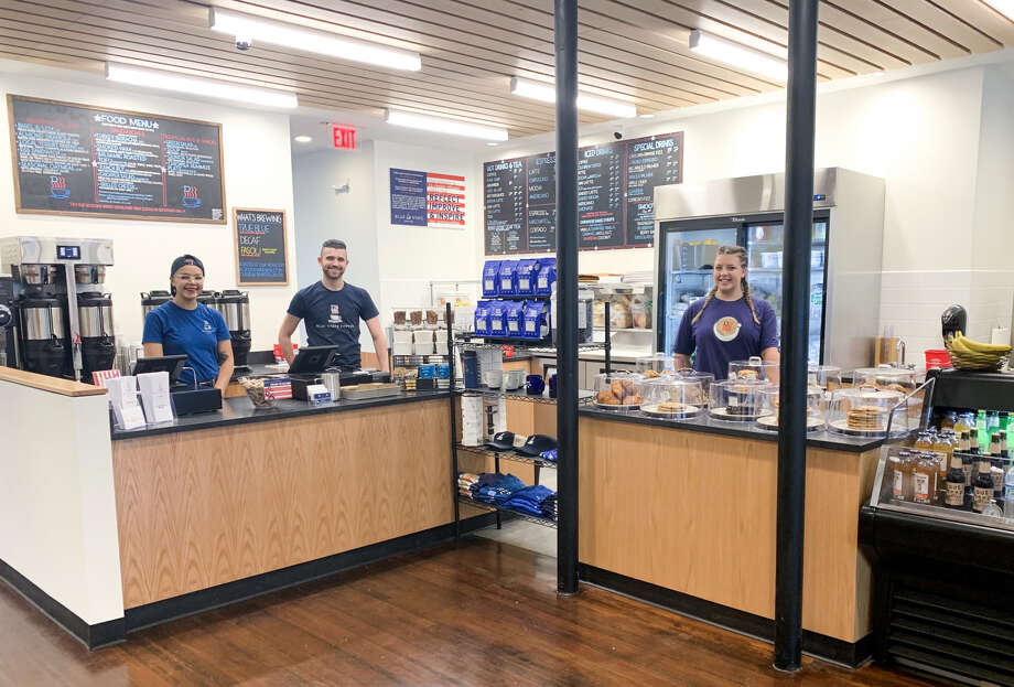 A new Blue State Coffee shop has opened in New Haven. Photo: Contributed