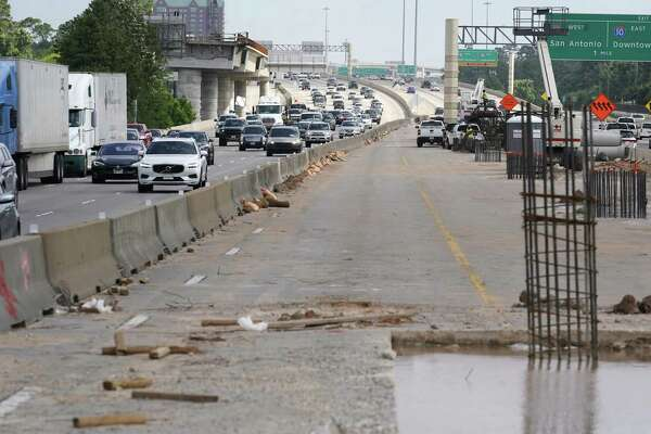 Southbound Loop 610 lanes near Uptown to close for busway work