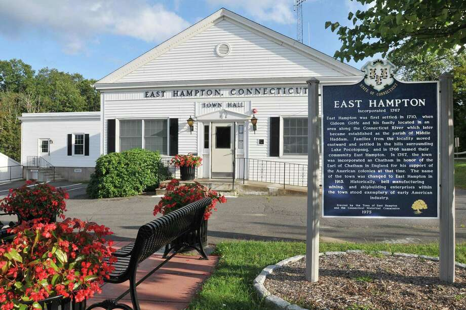 East Hampton Town Hall. Photo: Catherine Avalone / Hearst File Photo / TheMiddletownPress