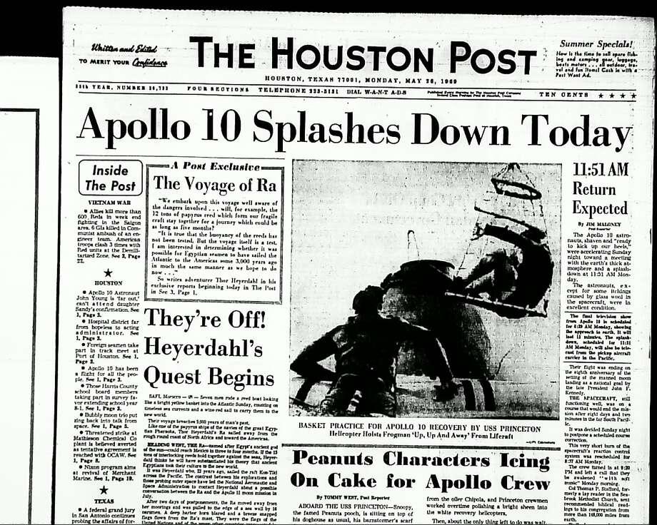 May 26, 1969 Photo: Houston Post