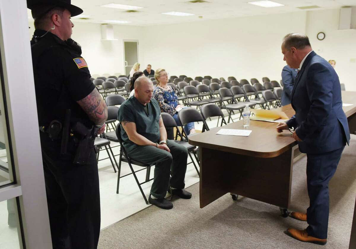 Dickie Winn appears in court on Wednesday, May 29, 2019 at the Clifton Park Town Justice in Clifton Park, NY. Dickie Winn was charged with DWI and vehicular manslaughter after a crash that left two people dead on Saturday. (Phoebe Sheehan/Times Union)