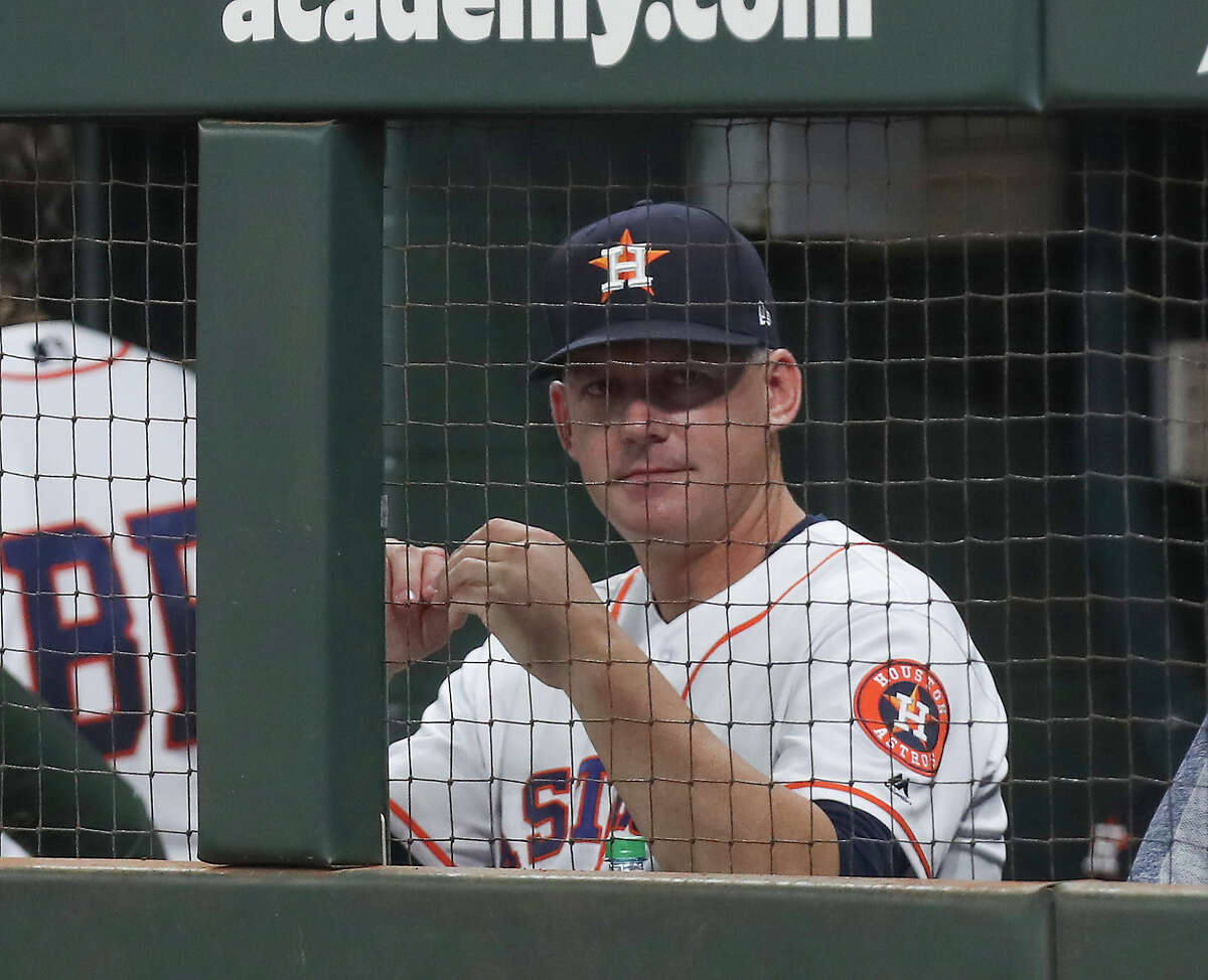Former Houston Astros manager A. J. Hinch appears to be on the verge of landing another managerial job.