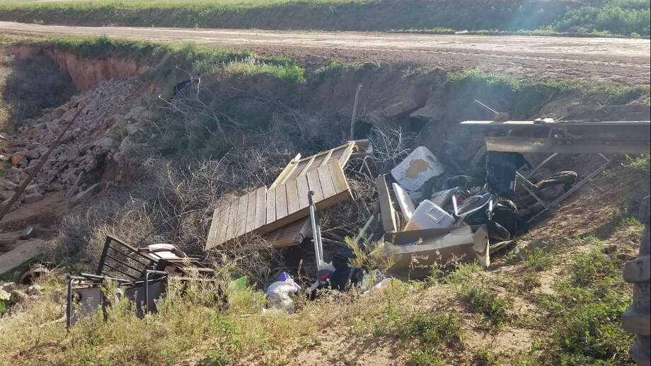 Constable Terry Timms says illegal dumping is becoming an increasing problem in Hale County. Photo: Courtesy Photo