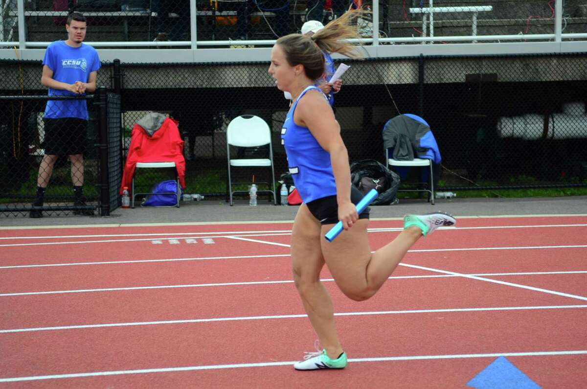 Class LL Track and Field Championship action in New Britain, Conn., on Wednesday May 29, 2019.