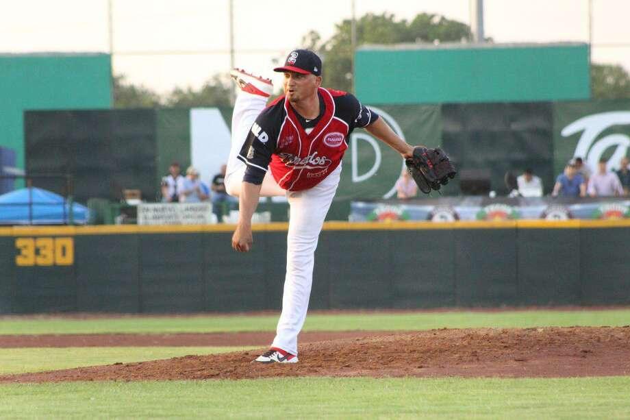 Tecolotes Dos Laredos pitcher Jose Oyervides Photo: Courtesy Of The Tecolotes Dos Laredos