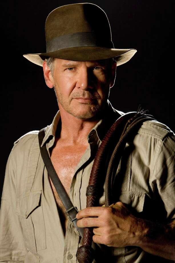 "Harrison Ford is back as Indiana Jones in  ""Indiana Jones and the Kingdom of the Crystal Skull."" Paramount Pictures Presents a Lucasfilm Ltd. Production  ""Indiana Jones and the Kingdom of the Crystal Skull"" "" starring Harrison Ford, Cate Blanchett, Karen Allen, Ray Winstone, John Hurt, Jim Broadbent and Shia LaBeouf.  The film is directed by Steven Spielberg from a screenplay by David Koepp. Story by George Lucas and Jeff Nathanson.  The film is produced by Frank Marshall. The executive producers are George Lucas and Kathleen Kennedy.  This film has been rated PG-13 for adventure violence and scary images. tm & ©  2008 Lucasfilm Ltd.  All Rights Reserved. Used under authorization. Photo: David James / Paramount Pictures / handout"