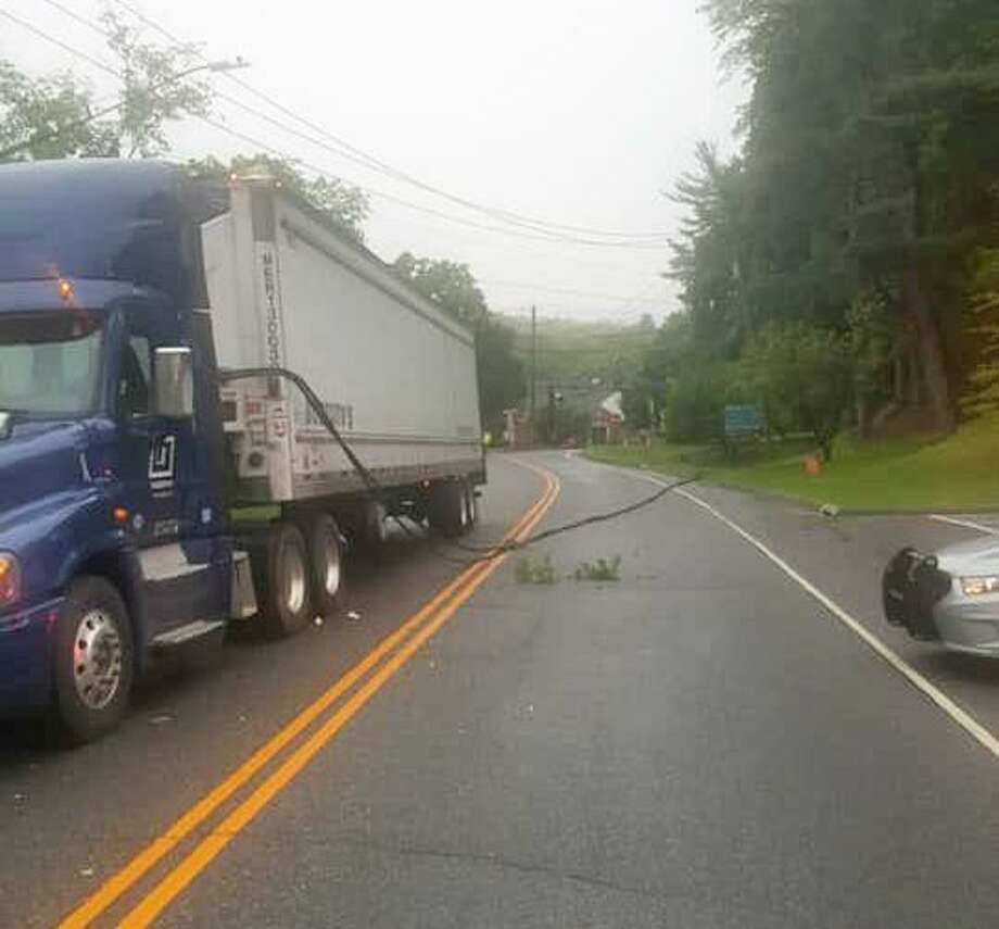 Low-hanging wires caused Route 39 accident in Sherman