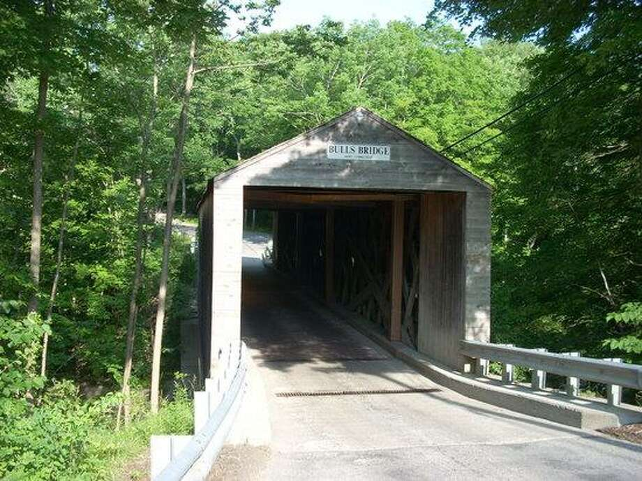 The entrance to Bull's Bridge in Kent, Connecticut. Photo: Contributed Photo / Contributed Photo / News-Times Contributed