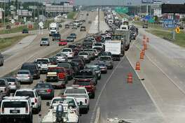 "Completion of work to expand Interstate 45 in the League City area will be the biggest factor affecting mobility projects in the city, City Manager John Baumgartner says. ""I-45 is the heartbeat, the main artery, for the whole community,"" he said. The interstate is also key hurricane evacuation route, as shown in this photo of northbound traffic on the highway in League City in 2008 as residents fled the path of Hurricane Ike."