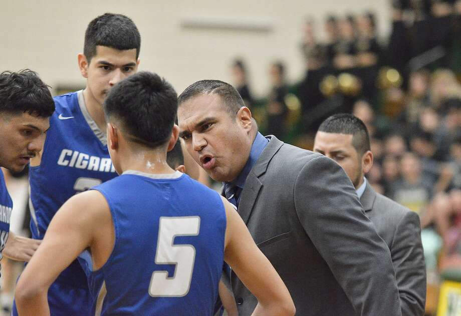 Sources confirmed to the Laredo Morning Times on Thursday that Cigarroa has parted ways with head basketball coach Enrique Villarreal. Photo: Cuate Santos /Laredo Morning Times File / Laredo Morning Times